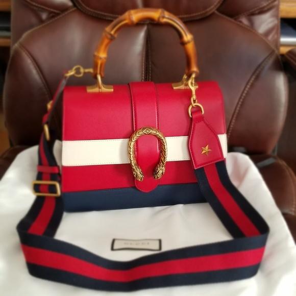 c86f21173 Gucci Bags | Dionysus Medium Top Handle Bag | Poshmark